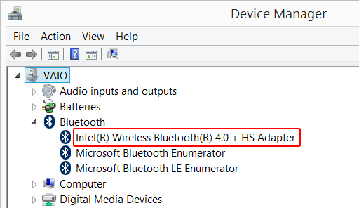 What version of the Bluetooth standard does my computer / laptop
